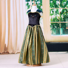 Baby Girls Kids Princess Coronation Costume Cosplay Party Gown Formal Dress 3-8Y