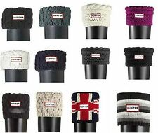 HOT Hunter cable knit Cuff Welly Socks For Hunter Tall WELLINGTON Rain Boots