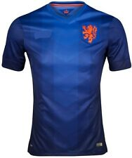FREE SHIPPING Netherlands  2014 World Soccer  Home Jersey - Blue