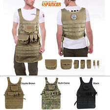 Tactical BBQ Grill & Crafts Multi-Use MOLLE Work Apron (3 Colors Option)
