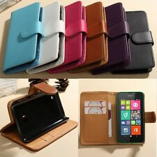 Flip Book Leather ID Card Wallet Case Cover w/Stand For Sony Xperia Z3 D6653 L55