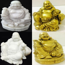 Assorted Lucky Laughing Happy Fat Buddha Marble Ornament Sculpture Statue Money