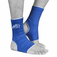 ARD Elasticated Ankle foot Brace leg support pain injury relief Leg & Foot Blue
