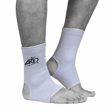 ARD Elasticated Ankle foot Brace leg support pain injury relief Leg & Foot WHITE