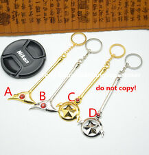 BIG Card Captor Sakura keychain keyring  key chain 4style SILVER GOLDEN 10CM