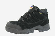 HYPARD ADTEC 1835-W Men Black Hiking Trail Steel Toe Wide Width Climbing Boots.