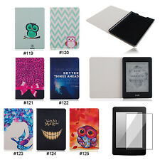 NEW PU Leather Flip Folio Case Cover For Amazon Kindle Paperwhite 1 2&3G Wifi