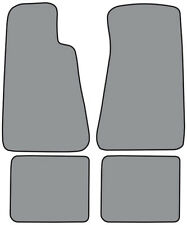 1991-1996 Buick Roadmaster without Snaps Cutpile 4pc Factory Fit Floor Mats