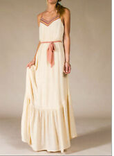 NEW FLYING TOMATO CREAM EMBROIDERED LONG MAXI DRESS pick S M L