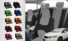 Durable Polyester Cloth Car Seat Covers for Chevrolet / chevy Multiple Colors
