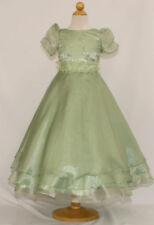 New Girl National Pageant Wedding Easter Formal Party Dress Sage sz 6 8 10 12 14