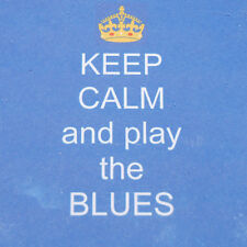 Keep calm and play the Blues - Blues Brothers- Key Ring/ Magnet/ Coaster/ badge