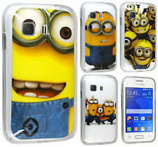 Despicable Me 2 Minion TPU Gel Case Cover For Samsung Galaxy Young 2 G130