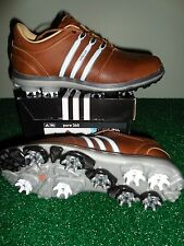 NEW Adidas PURE 360 Golf Shoes, BROWN/WHITE, PICK A SIZE, $260