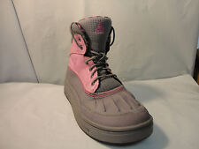 Nike Woodside 2 High GS Kids Junior Winter Boots Pink w/ Black or Gray Sz 4.5 Y