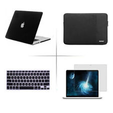 "Screen protector keyboard cover hard case For 13"" 11 15"" Apple MacBook Pro / Air"