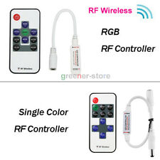 New  Mini 12-24V RF Wireless Remote Switch Controller Dimmer for LED Strip Light