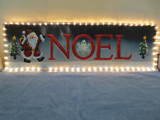 CHRISTMAS NOEL SIGN VINTAGE CHRISTMAS SIGN OUTDOOR LIGHT 3 COLOURS