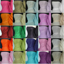 Premium Quality lightweight poly cotton fabric material various colours Q460