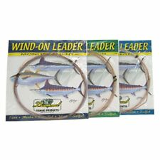 Momoi X-Hard Wind-on Monofilament Leaders--25 Ft--Pick Your Line Class