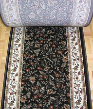 """141674 - Rug Depot Hall and Stair Runner Remnants - 26"""" Wide - Como 1593 Brown"""