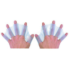 New Silicone Swimming Fins Hand Webbed Flippers Swim Gear Training Gloves S M L