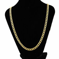 Wholesale lots Stainless Steel Chain Necklace Gold Tone 61.5cm long