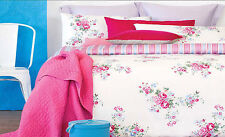 225TC ROSE ROSIE Quilt / Duvet Cover Set - SINGLE DOUBLE QUEEN KING or Eurocases