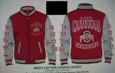 DEPOSIT FOR 2014 OHIO STATE 8 TIME NATIONAL CHAMPIONSHIP JACKET (3 STYLES) S-5X