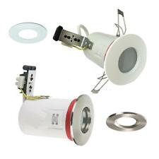 6 X FIRE RATED IP65 BATHROOM SHOWER DOWNLIGHT RECESSED SPOTLIGHT 240V ZONE 1