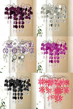 Urban Life Easy Fit Chandelier Decoration  Lamp Shade Drops - 3 Types