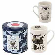 RAF CHINOOK OR SEA KING HELICOPTER MUG IN TIN.NEW.SPECIAL OFFER