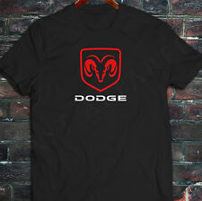 New Trukin Heavy Duty Racing Challenger Charger Dodge Ram Mens Black T-Shirt