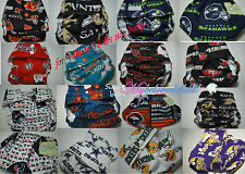 NFL Chicago Bears Washable Cloth Diapers/PUL/Baby/Preemie/Infant/Toddler