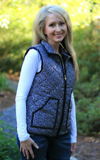 Quilted Puffer Vest- Designer Inspired Classic Puffer Vest- SALE!