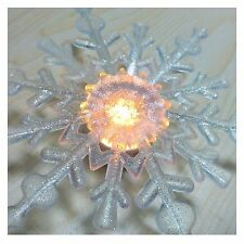 Christmas lights Snowflake LED Fairy string Xmas tree decoration Party Bulb Lamp