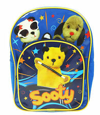 Sooty Show, Sweep and Sue School Bag Sport Backpack 32 x 24 x 10cm
