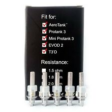 Pack of 5 coils / résistances Kanger Dual Coil, with Authenticity Code Checking