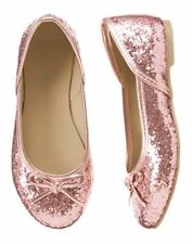 Gymboree Pink Glitter Ballet Flat Dess Shoes SZ 11 12 13 1 2 Play by Heart NEW