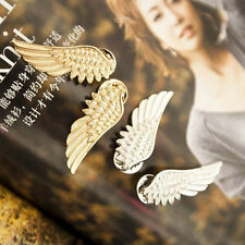 New Women Jewelry Wings Shape Collar Clip Brooch Pin Gold/Silver Plated Brooch