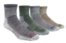3 Pairs 74% MERINO Wool Low-Cut 1/4 HIKING Socks - Made in CANADA