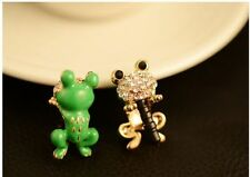 Diamond Crystal Earphone Jack Anti Dust Plug Cap Stopper For CellPhone E2