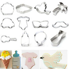 Stainless Steel Baking Cake Cookie Fondant Biscuit Pastry Cutter Mould Tools