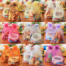 20x Luxury Organza Gift Bag Jewelry Packaging Pouch Wedding Favor Gift Bags