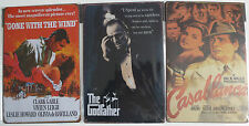 THE GODFATHER GONE WITH THE WIND CASABLANCA WALL ART METAL PLAQUE CLASSIC MOVIE