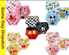 3pcs baby kids infant training potty pants, mickey minnie mouse winnie the pooh
