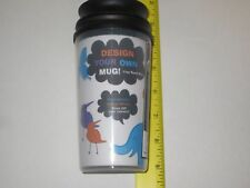 Design Your Own Travel Mug - Double Walled Cup, Kids Arts & Crafts, Add Pictures