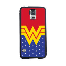 Wonder Woman Inspired Rubber Case For Samsung Galaxy S4 or S5