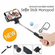 Extendable Selfie Stick Monopod Built-in Bluetooth Button For iPhone 5S 5G 5C