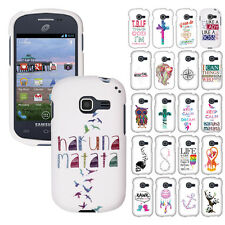 For Samsung Galaxy Discover S730G Centura S738C SNAP ON Hard Shield Case Cover